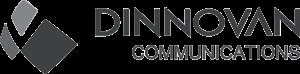 디노밴 네트웍스 로고 그레이